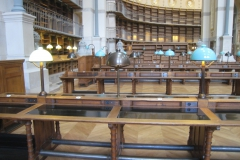 PARIS - BNF - Tables de lecture (1)