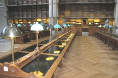 PARIS - BNF - Tables de lecture (2)