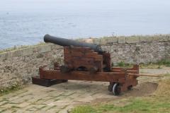 FORT LA LATTE Château Affût de canon-min