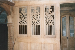 Bouville Farcheville suite du roy 37 Panneau de grille gothique