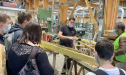Les coulisses du bâtiment : 60 collégiens ont visité nos ateliers
